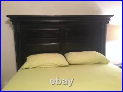 12 Pc. Mediterranean-style Bedroom Set Lamps, Side Tables, Drawers, Mirror