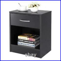 2 Pack Nightstands Bedroom Sofa End Side Bedside Table with Drawer