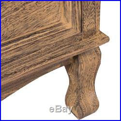 3 Drawers Nightstand Storage Solid Wood End Table Bedroom Side Bedside