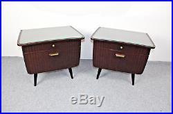 60s Nachtschränkchen Mid Century Bedside Table Vintage Nightstand