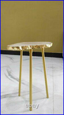 Agate side tables, agate bedside tables, Side tables for living rooms