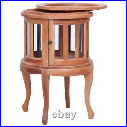 Bedside Table Sofa End Side Table Nightstand Stand Vitrine Cabinet Wood Storage