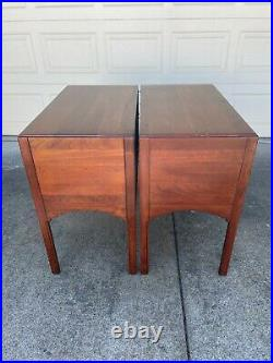 Bob Timberlake Bed Side Table PAIR 833-623 Made in USA by Lexington