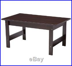 Coffee Table Set 3 Pc Wood Side End Bedside Tables Small Living Room Furniture