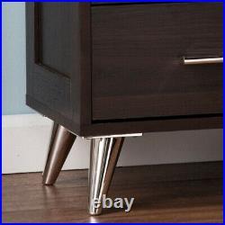 Elegant Nightstand Bed Side Lamp Table Storage Cabinet Drawer Bedroom Furniture