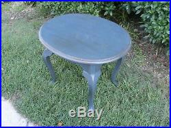 Ethan Allen Heirloom Oval Occasional Table/Side Table/Bedside Table/ Lamp Table