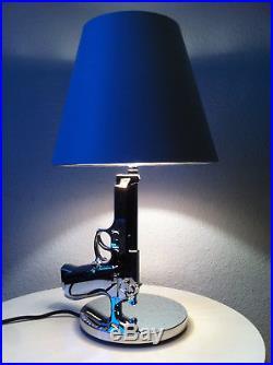 Flos Bedside Gun Lampe Philippe Starck pistol lamp table gun tisch desk pistolen