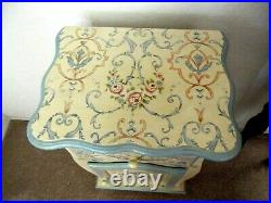 French Country Hand Painted Bedside Cabinetnightstandside Tablelocal Pick-up