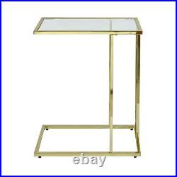 Harry Gold Sofa Table Snack Bed Side Table Laptop Holder Living Room Furniture