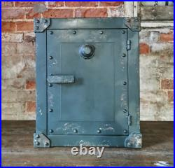 Industrial Bedside Cabinet Container Side Table 1 Door Cupboard Storage Unit New
