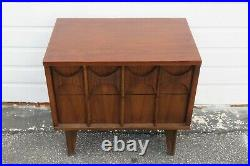 Mid Century Broyhill Style Nightstand Side End Bedside Table 1750