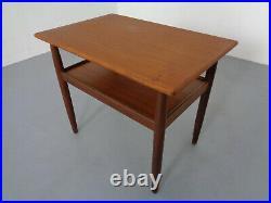 Mid-Century Danish Teak Bedside Tables (2)