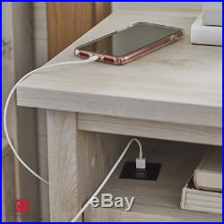 Modern Farmhouse Nightstand Bedside Couch Side End Table Rustic Gray New
