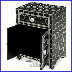 Modern Storage Cabinet withDoors Drawer Bed Side Sofa Table Living Room Furniture