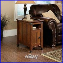 Narrow Side Table Small Accent Unique Rustic Bedside End Tables Stand Bedroom