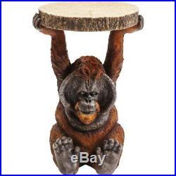 Orangutan Side Table Resin Bedside Table 82356 Animal Table