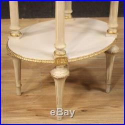 Pair of night stands bedside tables painted furniture style antique side table