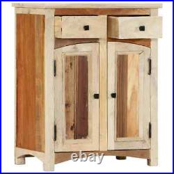 Reclaimed Wood Nightstand Bedside End Table Bedroom Side Stand Storage Drawer