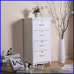 Set OF 2 Nightstand End Table Bedroom Storage Solid Wood Side Bedside With3 Drawer
