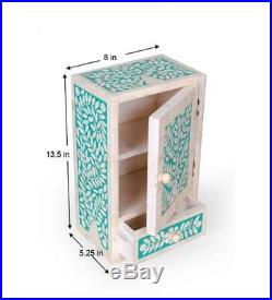 Side Drawer bone inlay Table Bedroom Bed Side Lounge Home Decor Furniture