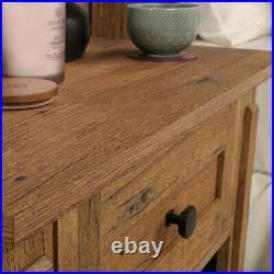 Simple Wood Nightstand Bed Side Lamp Table Bedroom Display Storage Furniture Oak