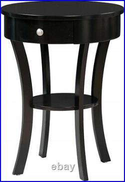 Small Chair Side End Table Side Accent Unique Bedside Stand With Storage Drawer