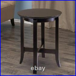 Small Round Chair Side End Table Bedside For Lamp Accent Living Room Furniture