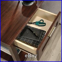 Sofa Side End Table Drawer Storage Shelves Display Nightstand Bedside Furniture