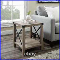 Sofa Side Table Couch End Table Living Room Bedside Table Bedroom Nightstand