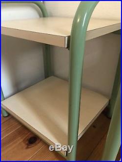 Table Chevets Annees 80 DLG Sottsass Memphis Milano Post Moderniste Bed Side