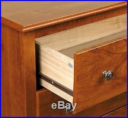 Tall Night Stand Table Drawer Lamp Cabinet Drawer Storage Bed Side Furniture New