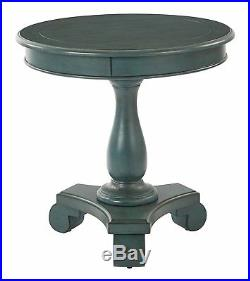 Traditional Modern Round Wood Accent Table Side End Table Bedside Various Color